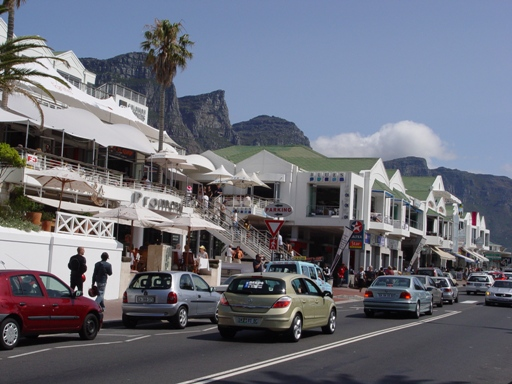 Camps Bay restaurants. Photo: Blue Waters